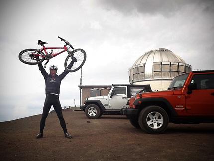 Carlo Jacobs sein Erlebnisbericht MTB-Tour Mt.-Mauna-Kea