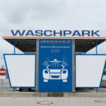 Waschpark Orscholz neben dem neuen Fitness-Treff Orscholz Studio