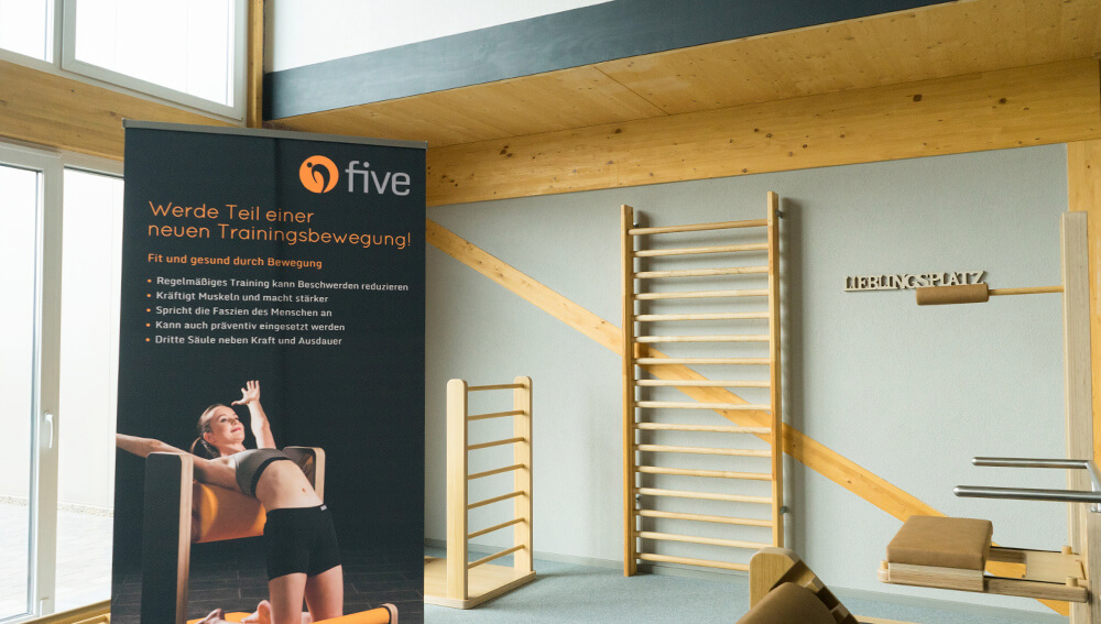 Fitness-Treff Orscholz FIVE Trainingsfläche - für Muskeln und Faszien