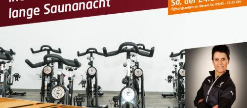 Indoor Cycling Marathon und lange Sauna-Nacht Fotogalerie 2018