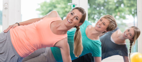 Pilates wird zu Power Pilates