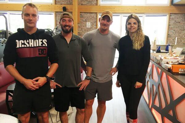 Martin, Marcel und Sepp über unser Studio