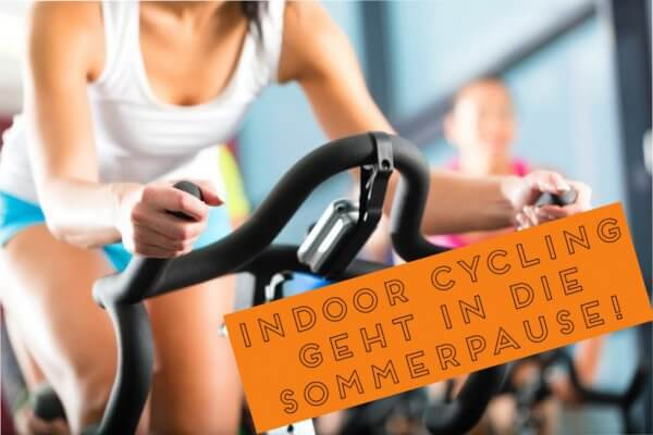 Indoor Cycling geht in die Sommerpause