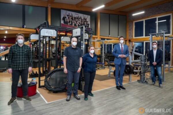 Besuch von Ministerpräsident Tobias Hans