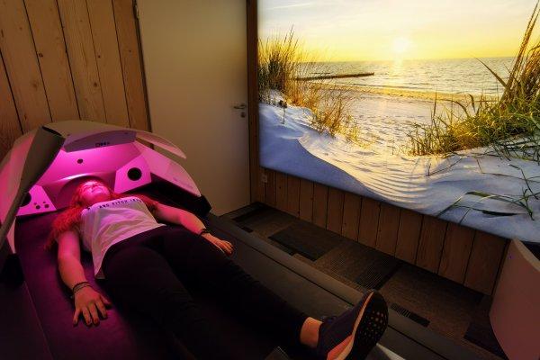 Unsere Wellness Massageliege